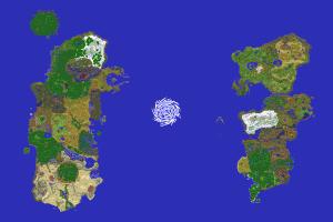 Crafting Azeroth Map